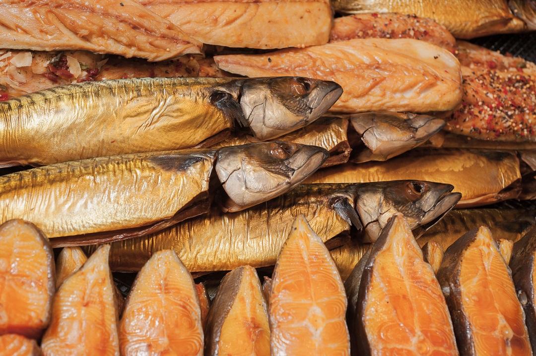 Unser köstlicher Räucherfisch